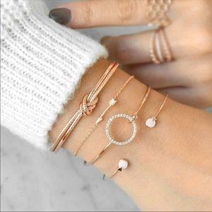 Jewelry - Four piece bracelet set!